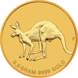 2019 $2 Mini Roo 0.5g Gold Coin