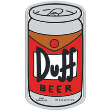 2019 Tuvalu $1 The Simpsons - Duff Beer 1oz Silver Coin