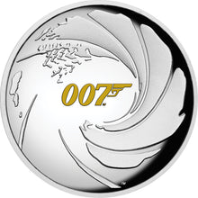 2020 Tuvalu $1 James Bond 007 High Relief 1oz Silver Proof