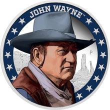 2020 Tuvalu $1 John Wayne 1oz Silver Proof Coin