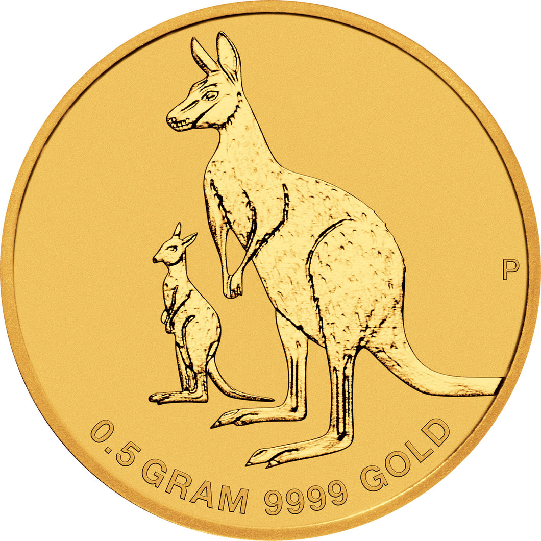 2020 $2 Mini Roo 0.5g Gold Coin