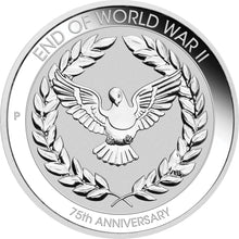 2020 10c End of WWII 75th Anniv. 1/10oz Silver Coin