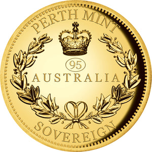 2021 $50 Double Sovereign High Relief Gold Proof