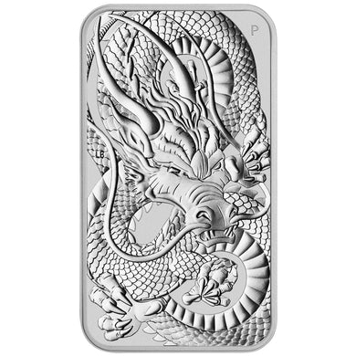 2021 $1 Dragon 1oz BU