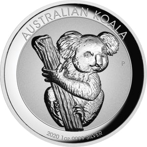 2020 $1 Koala Incuse 1oz Silver Proof