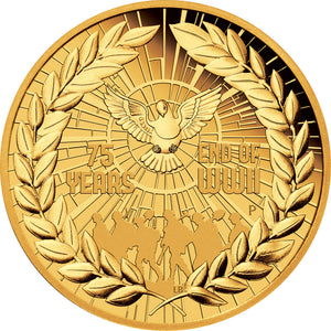 2020 $200 End of WWII 2oz Gold Proof Coin