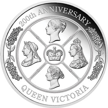 2019 $1 Queen Victoria 1oz Silver Proof Coin
