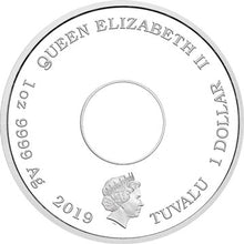 2019 Tuvalu $1 The Simpsons - Donut 1oz Silver Proof Coin