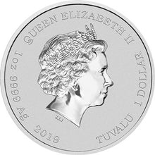 2019 Tuvalu $1 Homer Simpson 1oz Silver Coin