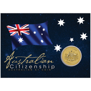 2021 $1 Citizenship Coin in Card