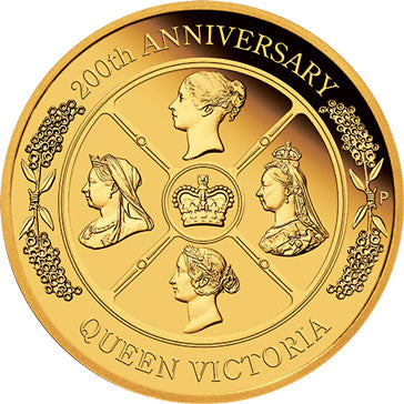 2019 $200 Queen Victoria 2oz Gold Proof Coin