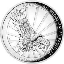 2019 $1 Wedge-Tailed Eagle High Relief 1oz Silver Proof Coin