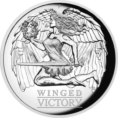 2021 $1 Winged Victory High Relief 1oz Silver Proof Coin