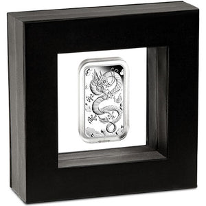 2019 $1 Dragon Rectangular 1oz Silver Proof Coin