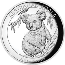 2019 $1 Koala High Relief 1oz Silver Proof Coin