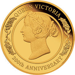 2019 $25 Queen Victoria 1/4oz Gold Proof Coin