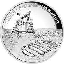 2019 $8 Moon Landing High Relief 5oz Silver Proof Coin