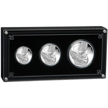 2020 Year of the Mouse Silver Proof Three-Coin Set