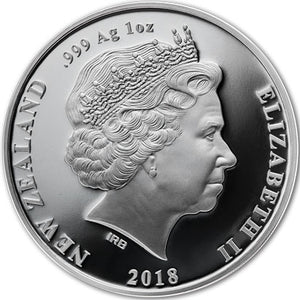2018 NZ $1 1918 Back from the Brink 1oz Silver Proof Coin