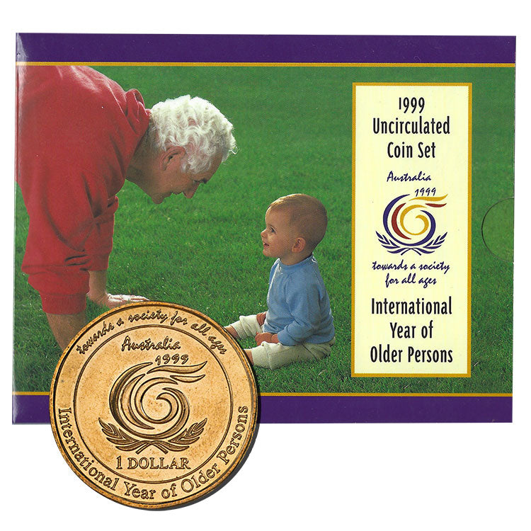 1999 Annual Uncirculated Coin Set - IYOP