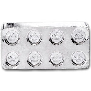 Building Blocks 1oz Silver Bar (2x4)