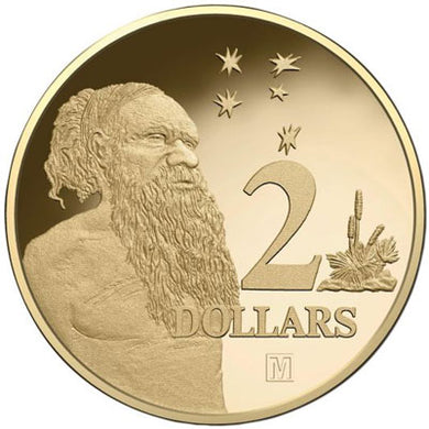 2018 $2 'M' Privymark Proof