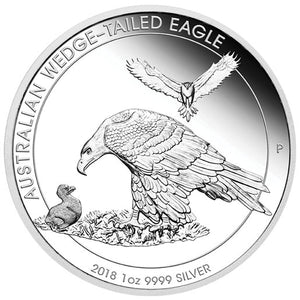 2018 $1 Wedge-Tailed Eagle 1oz Silver Proof Coin