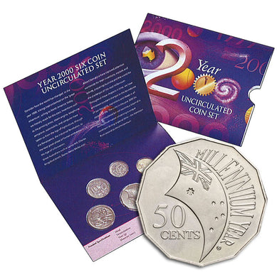 2000 Annual Uncirculated Coin Set - Millennium