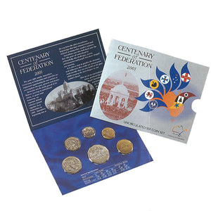 2001 Annual Uncirculated Coin Set - Federation