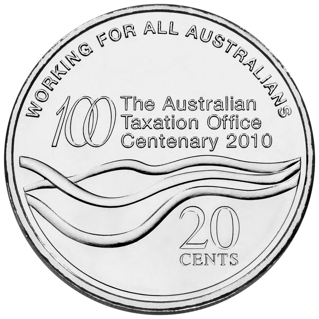2010 20c Tax Office Unc