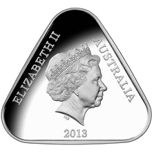 2013 $5 Parliament House Triangular Silver Proof