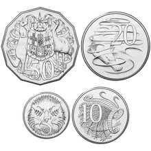 2016 5c, 10c, 20c, 50c Decimal Currency Set Unc