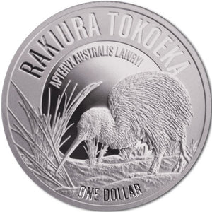 2017 NZ $1 Kiwi 1oz Silver Proof Coin