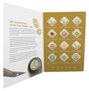 2018 $2 30th Anniversary 12-Coin Set