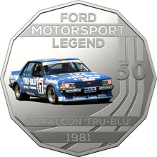 2018 50c Ford Performance  - 1981 XD Falcon 'Tru Blu' Unc