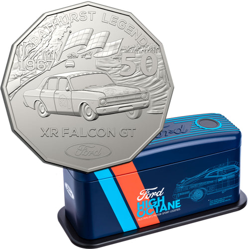 2018 50c Ford Performance Vehicle Tin 7-coin Set