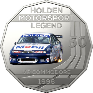 2018 50c Holden Performance  - 1996 VR Commodore HRT Unc