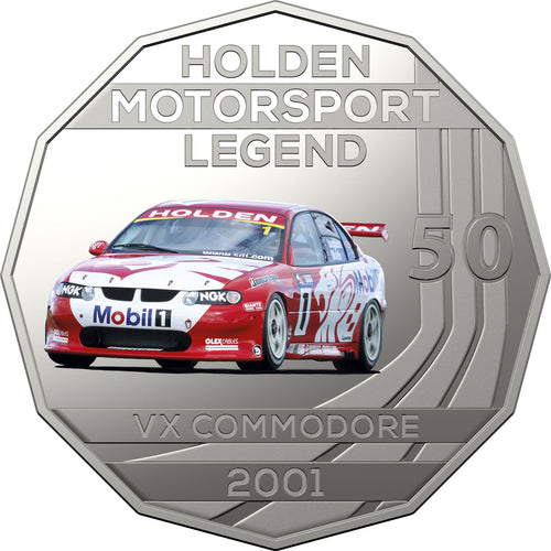 2018 50c Holden Performance  - 2001 VX Commodore HRT Unc