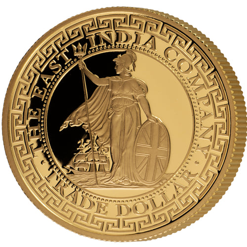 2018 Niue $250 British Trade Dollar 1oz gold proof coin