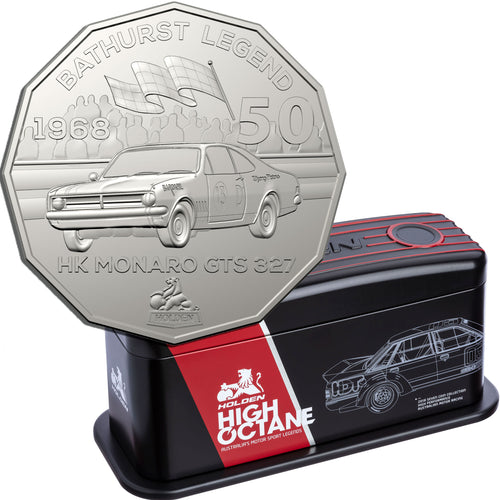 2018 50c Holden Performance Vehicle Tin 7-coin Set