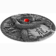 2018 Niue $2 Chinese Dragon 2oz Silver Coin