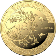 2018 $100 25th Anniversary of the Kangaroo 1oz Gold Proof Coin