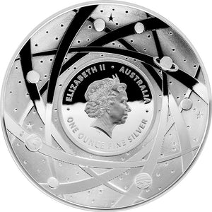 2018 $5 Earth Curved 1oz Silver Proof