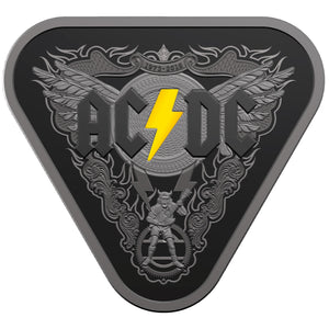 2018 $5 AC/DC Triangular Silver Proof