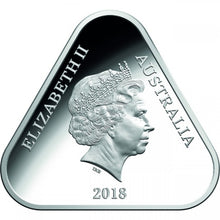2018 $5 Anzac Triangle Silver Proof Coin
