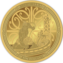2018 NZ $10 Maui and the Fish 1/2oz Gold Proof Pair