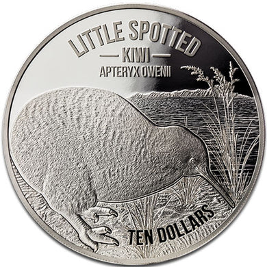 2018 NZ $10 Kiwi 5oz Silver Proof Coin