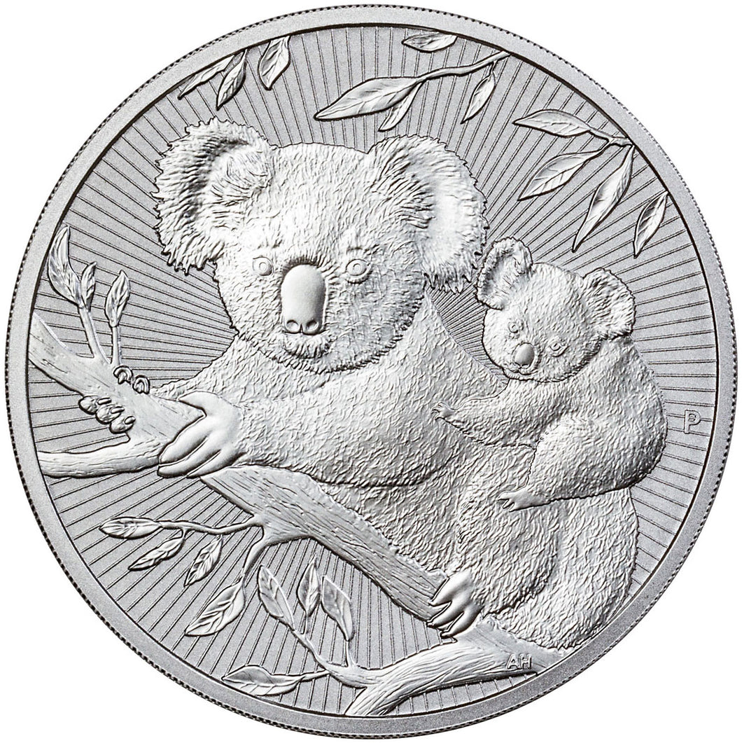 2018 $10 Mother & Baby Koala 10oz Silver BU