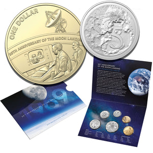 2019 Uncirculated Coin Set - Moon Landing