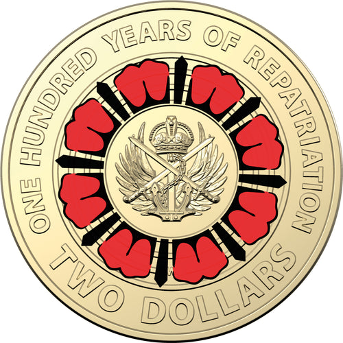 2019 $2 ANZAC Day Repatriation Unc